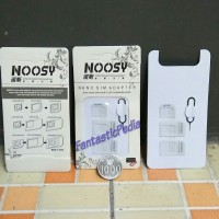 noosy sim card adaptor 3in1 pin ejecter ejector adapter nano micro