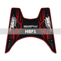 Karpet Honda BeAT FI 2012 - Rubber Step Floor / Bordes / Alas/ Pijakan