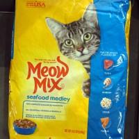 Makanan Kucing / Meow Mix Seafood Medley 6.44 kg 502290