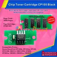 Chip Cartridge Xerox CP105 CP215W CM215 CM215FW CP205 CM205 Black