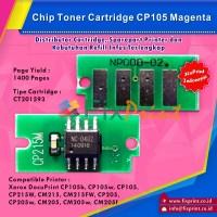 Chip Cartridge Xerox CP105 CP215W CM215 CM215FW CP205 CM205 Magenta