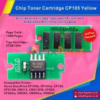 Chip Cartridge Xerox CP105 CP215W CM215 CM215FW CP205 CM205 Yellow