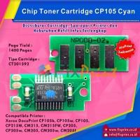 Chip Cartridge Xerox CP105 CP215W CM215 CM215FW CP205 CM205 Cyan
