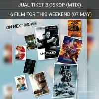 TIKET BIOSKOP MTIX - 16 FILM THIS WEEKEND (07may)