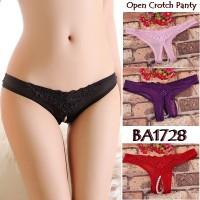 Lingerie Pearl Open Crotch G string BA1728 LingerieOnYou