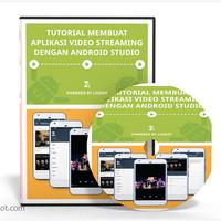 DVD Belajar Membuat Aplikasi Video Streaming Dengan Android Studio