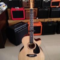 Jual Gitar Akustik Elektrik Marfill Fc490 Cole Clark Tuner Ori Murah