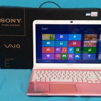 laptop sony vaio core i5 warna pink