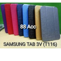 SARUNG UME flip Cover SAMSUNG TAB 3V / T116/T110 / best Quality