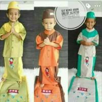SARKOCI(Sarung + Sajadah + Baju Koko+Peci) untuk anak usia 1- 12 tahun