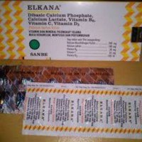ELKANA TABLET /strip