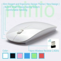 Jual Thin Mouse wireless slim design mirip* Mac Apple Murah