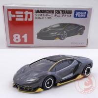Tomica Reguler 81 Lamborghini Centenario (Hitam)