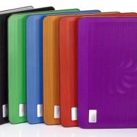 "COOLING PAD DEEP COOL N17 Super Slim Aluminium 7 colours upto 14"""