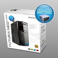 PC Case Alcatroz Futura Neo 100XV + PSU Magnum Pro 225X