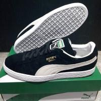 Sepatu Puma Suede Classic Black White