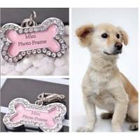 Bandul liontin Nama untuk Kalung Anjing dan Kucing