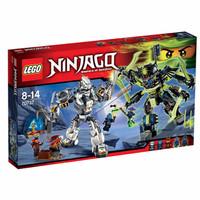 LEGO Ninjago -70737 Titan Mech Battle Set Ninja Kid Toy Original Promo