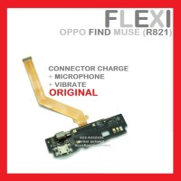 Flexi Oppo Find Muse R821 Con Charge Mic Vibrate Flexible Ori 904084