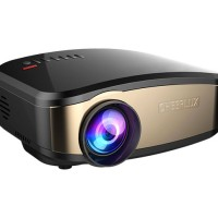 Jual Projector Cheerlux C6 Wifi Mini Proyektor + Tv Tunner vs uc46 EUG600d Murah