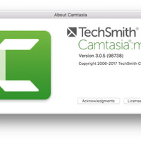 Techsmith Camtasia Mac Version 3.0.5 Original Lifetime Update