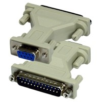 CONVERTER SERIAL RS232 DB9 PIN FEMALE TO DB25 MALE