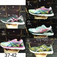 sepatu fitnes running jogging senam asics original size 37-45