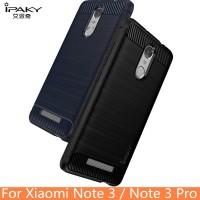 SoftCase Ipaky Carbon Fiber Xiaomi Redmi Note 3 Pro (Rubber/Case/Soft)