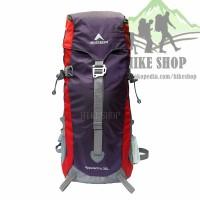 Tas Ransel Carrier Eiger 1184 Appalachia 35L Red - Free Bag Cover