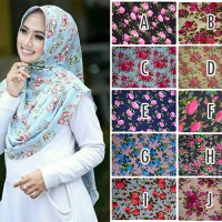 Hijab Kerudung Jilbab Pet Amanda Mix Motif High Quality