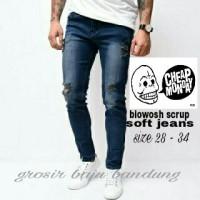 Jual Knee Ripped jeans-celana sobek sobek Pria Murah