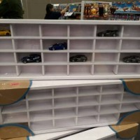 Jual Rak Kayu untuk Display Diecast Car (Hot Wheels, Tomica, Matchbox) Murah