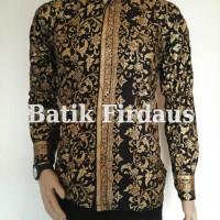 Kemeja Pria Batik Emas Original Murah