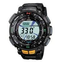 JAM TANGAN PRIA CASIO PROTREK PRG-240-1DR TRIPLE SENSOR SOLAR POWERED