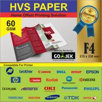 Kertas Print Fotocopy - HVS Putih F4 60 gram