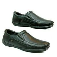 sepatu kulit CARVIL TYRONE /hitam