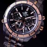 jam tangan pria merk CASIO EDIFICE EF-534 CHRONOGPRAH stainless steel