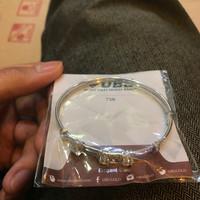 gelang emas putih ubs elegant gold 22k 75% kualitas terbaik grosir