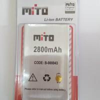 BATTERY BATRE BATERAI MITO BA-00043 / T550 ORIGINAL