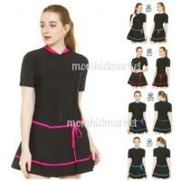 Baju Renang Wanita Ukuran XXL Dewasa HDR-1119