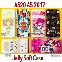 A5 2017 A520 Soft Case Gambar Timbul Samsung Galaxy A52017 A520