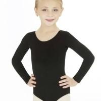 Leotard ballet/ Baju balet anak tangan panjang