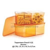 Tupperware Snack It 2pcs - Gold