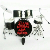 Miniatur Drum BimBim Slank Gak Ada Matinya