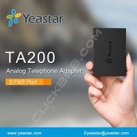 Yeastar NeoGate TA200 - 2 FXS Analog Telephone Adapter