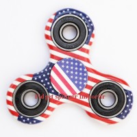Fidget spinner Motif - USA - EDC Cramic Ball Focus Games