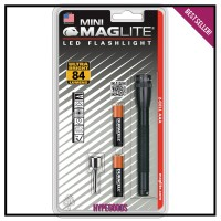 Senter LED Maglite MINI MAG AAA HANGPACK SP32036 Kecil Anti Air