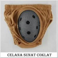 harga Celana Khitan Sunat Coklat Untuk Bayi Dan Anak Rumah Popok Sakti Tokopedia.com