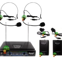 harga Microphone N Aiwa 358 Htl - Bundling Mic Headset 2@ Ht011dl Tokopedia.com