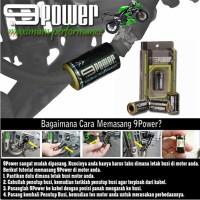 9POWER Booster, penambah Akselerasi, Tenaga & Hemat BBM